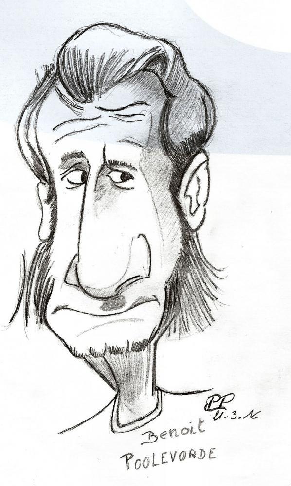 Benoît Poelvoorde by Patoux